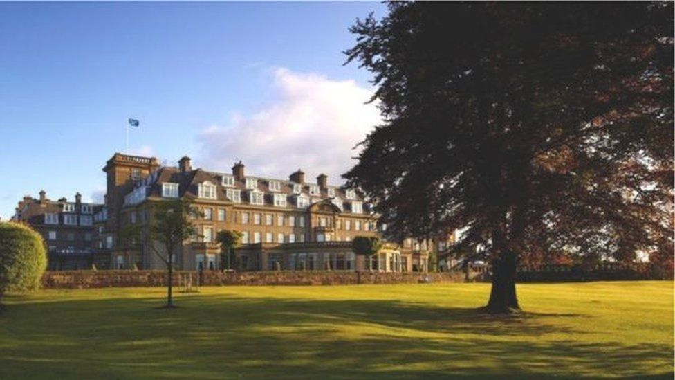 Gleneagles Hotel in Perthshire