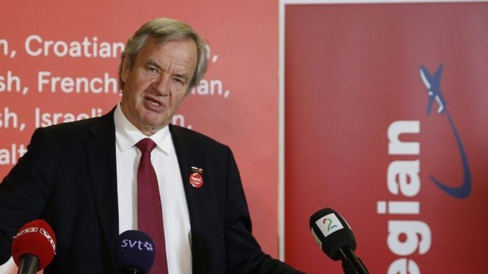 CEO of Norwegian low-cost airline Air Shuttle, Bjoern Kjos