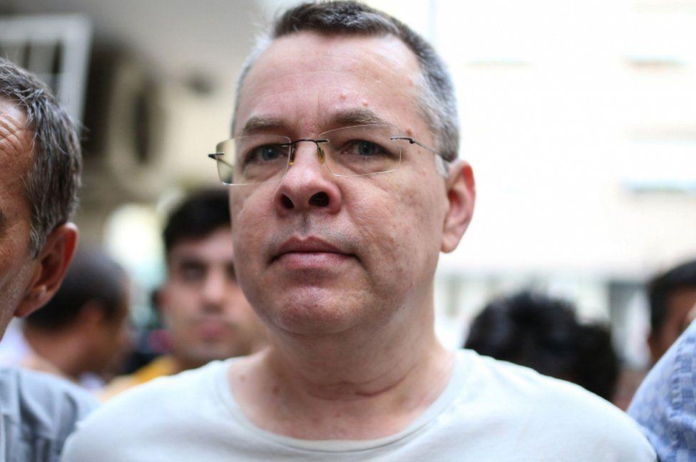 US pastor Andrew Craig Brunson