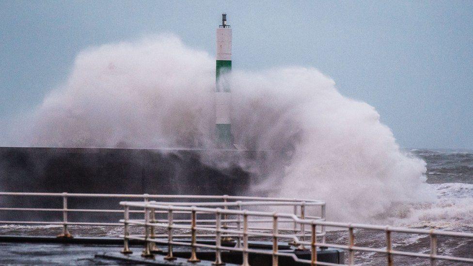 Stormus yn Aberystwyth // Stormy in Aberystwyth