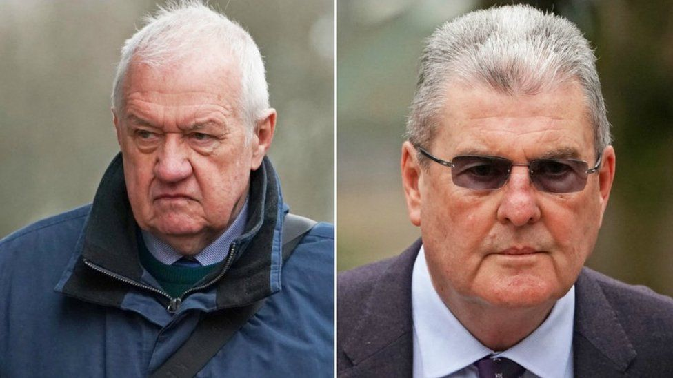 David Duckenfield and Graham Mackrell both deny the charges against them