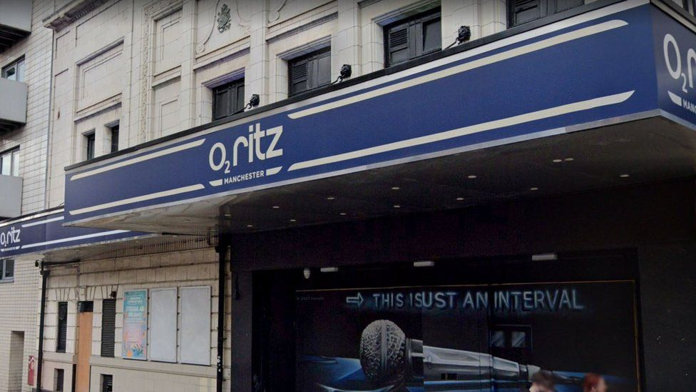 The O2 Ritz in Manchester