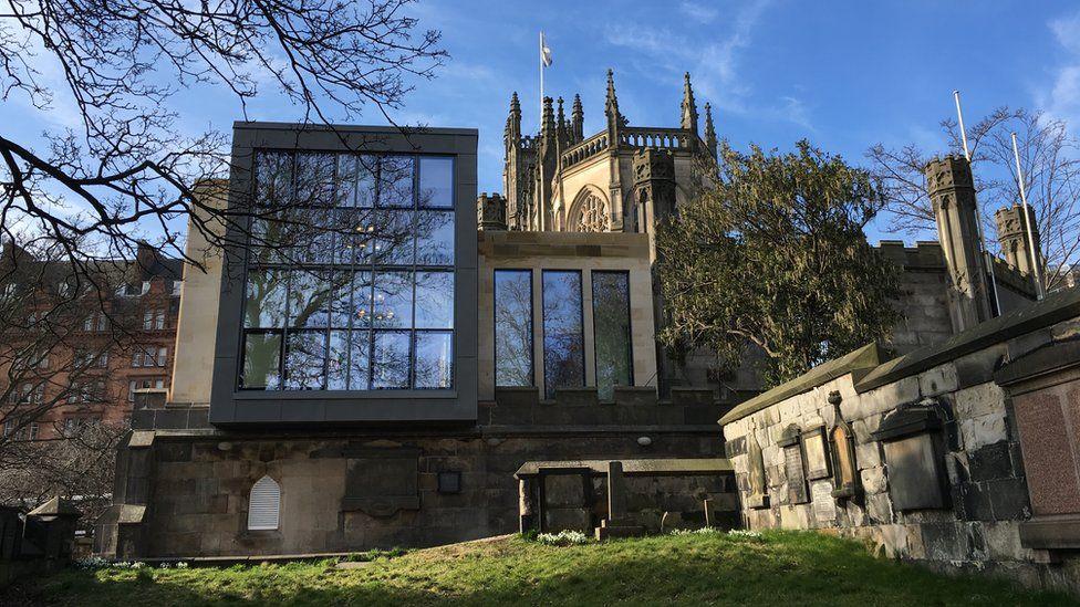 St. John's Church - Alteration and Extension, Edinburgh - contract value £2.35m (LDN Architects for Cornerstone Developments (Edinburgh) Ltd)
