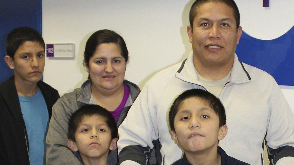 Veronica Castro and family
