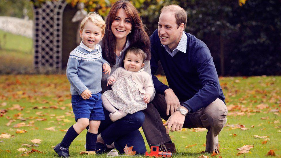 New Duke and Duchess of Cambridge family photo