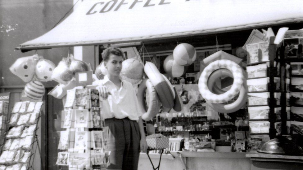 Roger Fennell and his Saturday job, 1959