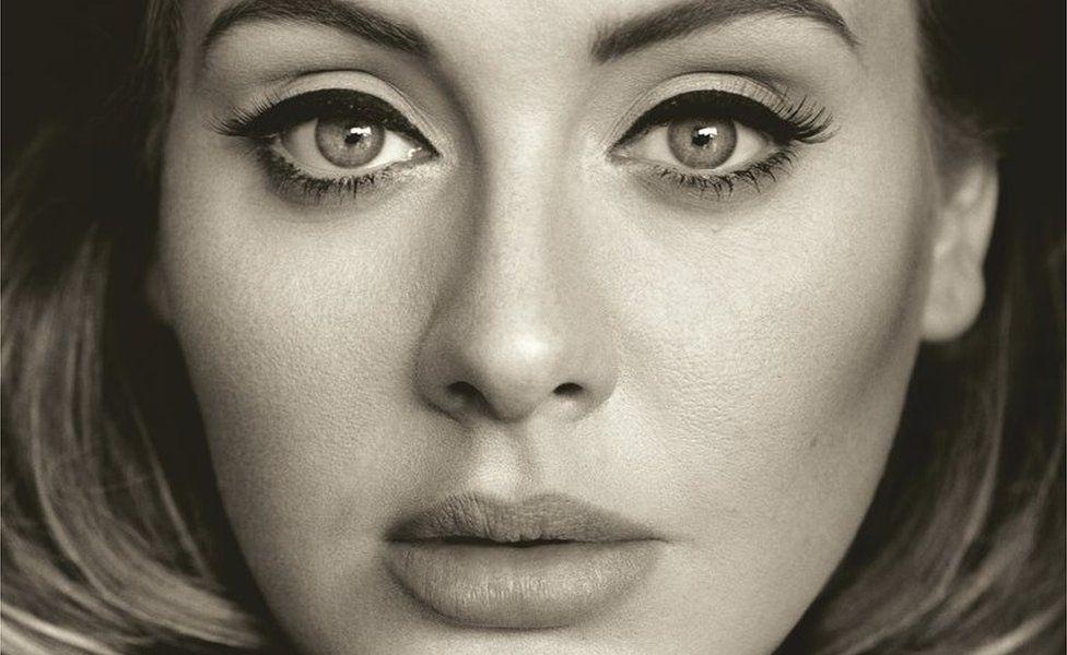Cover art for Adele's 25