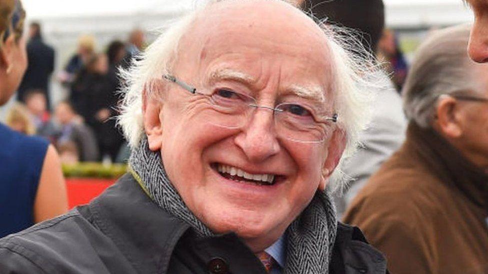Michael D Higgins