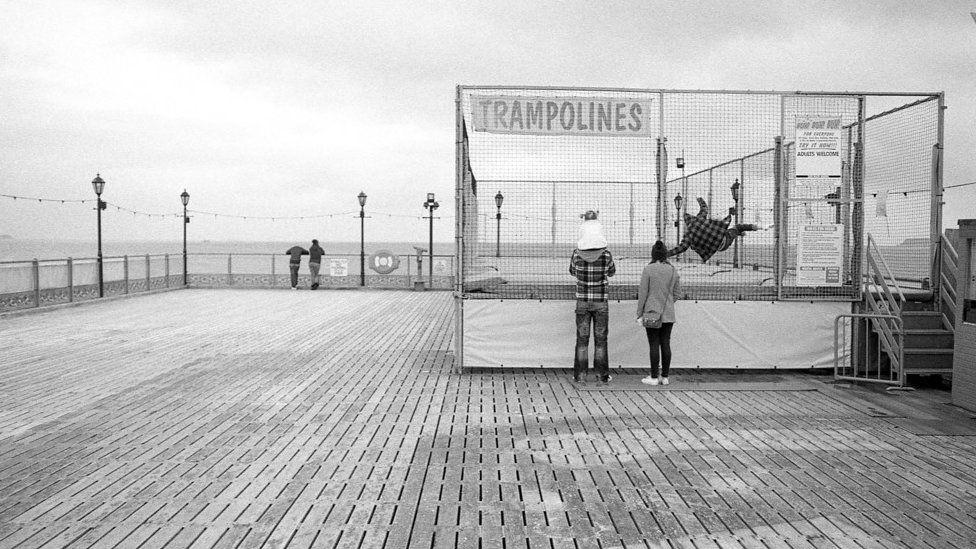 Trampolines in Devon