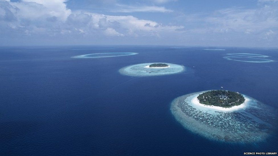 Islands of the Maldives (16 March 2010)