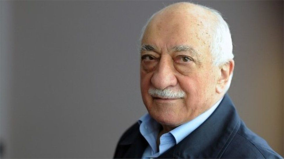 Exiled Turkish cleric Fethullah Gulen at his residence in the US in September 2013