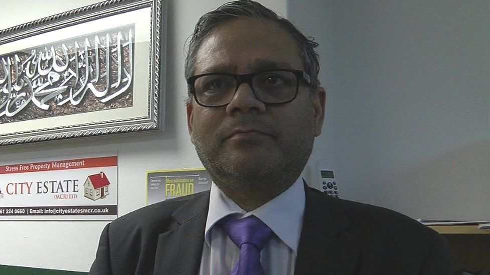 Syed Azhar Shah, chairman of Saath Saath Group