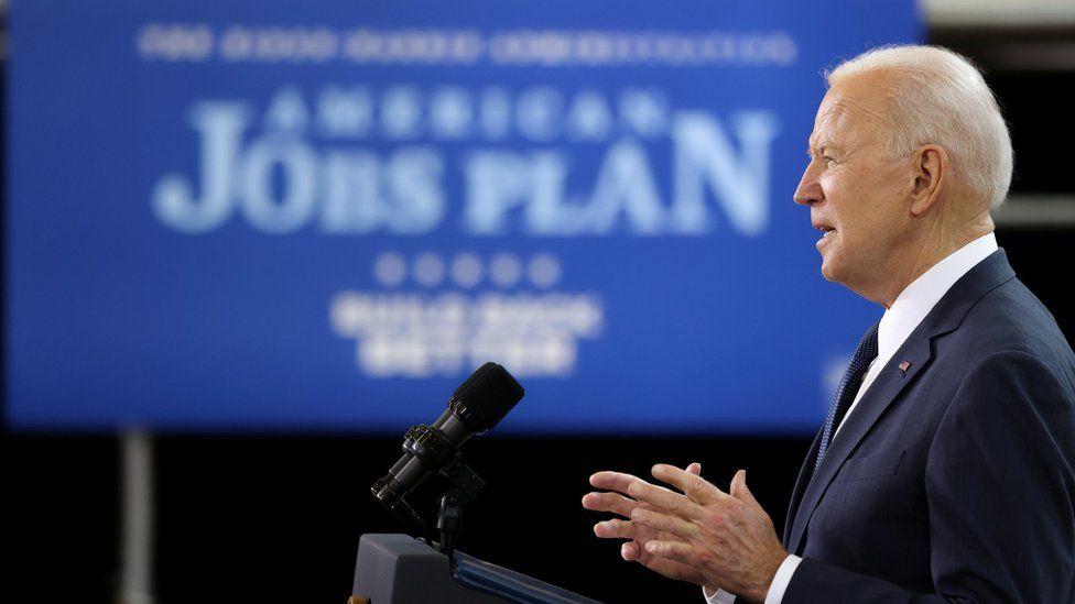 Joe Biden unveils his American Jobs Plan