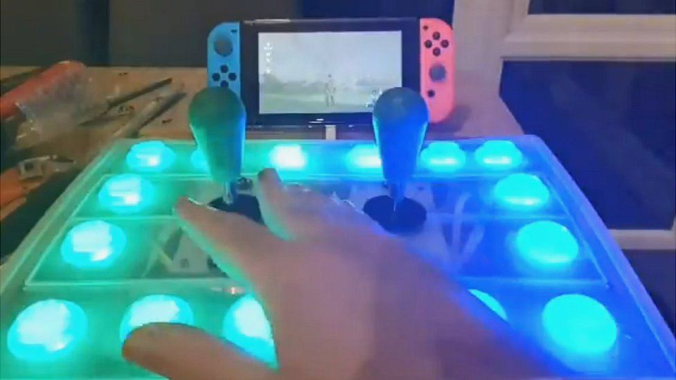 Rory Steel's controller