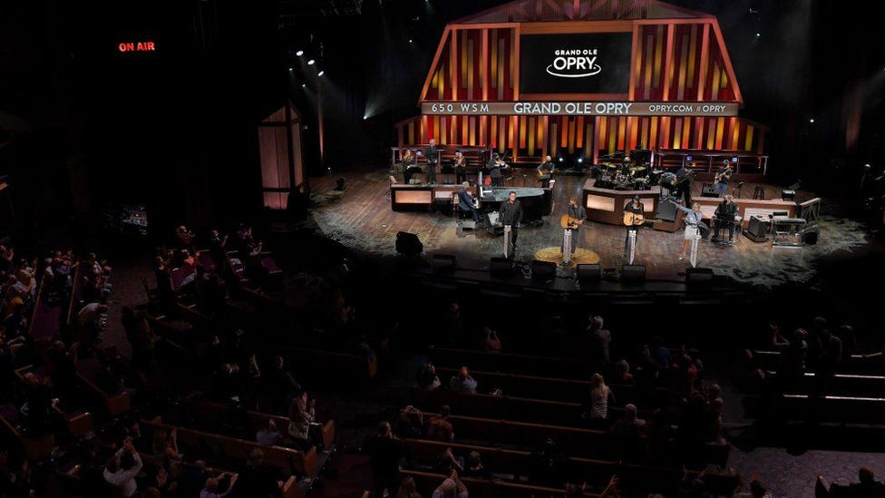 Nashville's Grand Ol Opry reopened in October for its 95th anniversary
