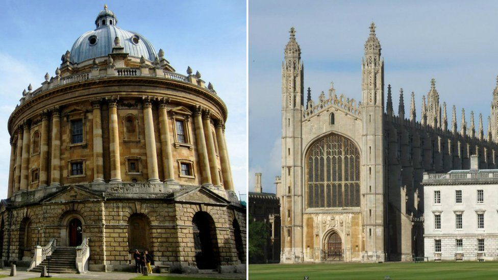 Radcliffe Camera and King's College