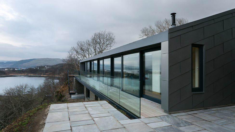"""Due West in Argyll - """"maximises stunning views from a spectacular cliff-top location"""""""