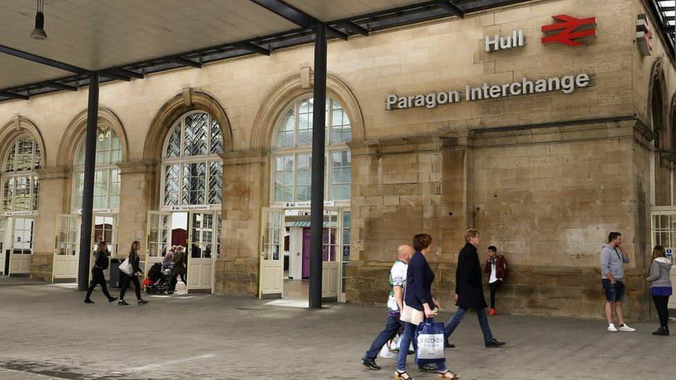 Hull Paragon Station