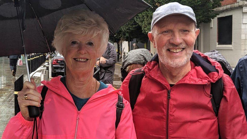 Gill Brown and Alan Brooks