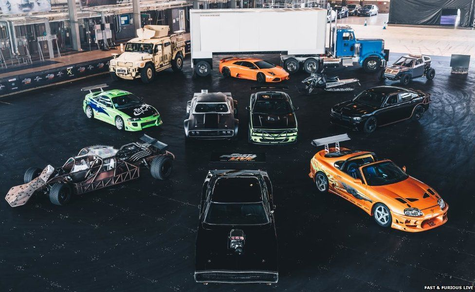 cars from the show