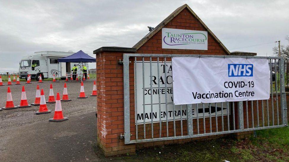 Taunton Racecourse vaccinations