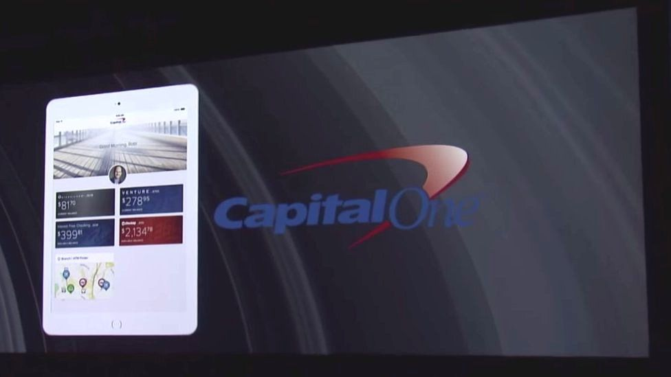 Video screengrab from Capital One presentation