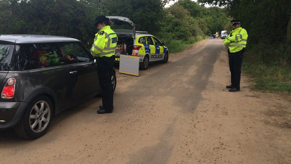 Police make roadside checks
