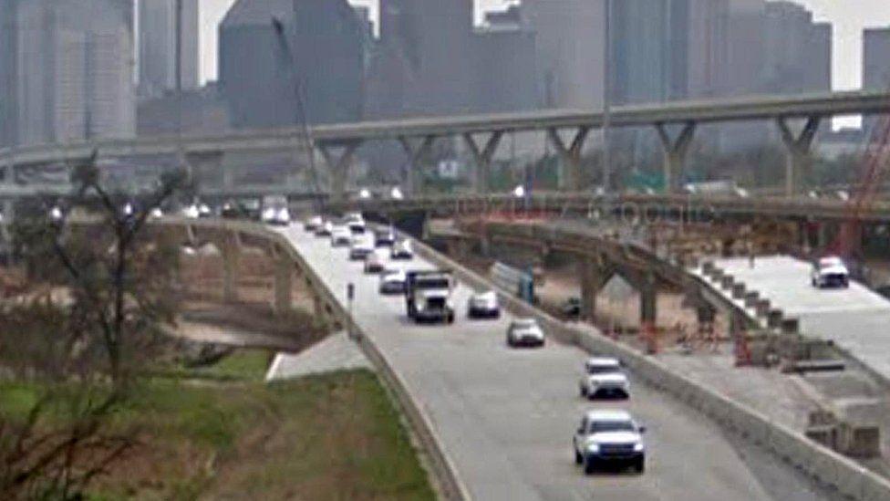 Interstate Highway 45, Houston, Texas