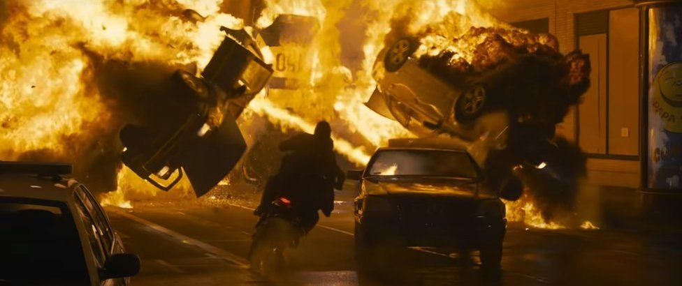 A scene from The Matrix Resurrections