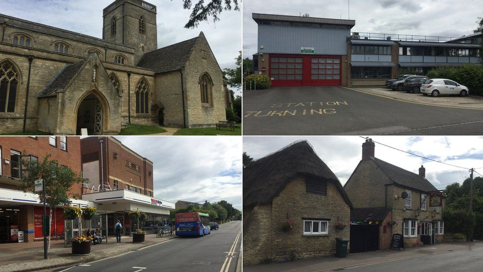 Highlights of any visit to Kidlington include St Mary the Virgin church, the fire station, the Kings Arms pub and the high street