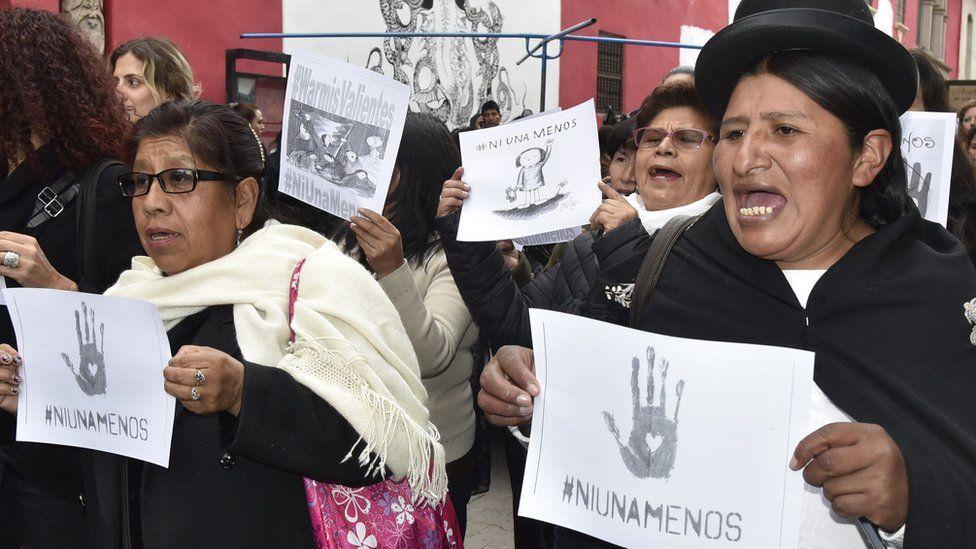 Feminicidios: la preocupación en Bolivia por ser el país de Sudamérica en el que matan a más mujeres