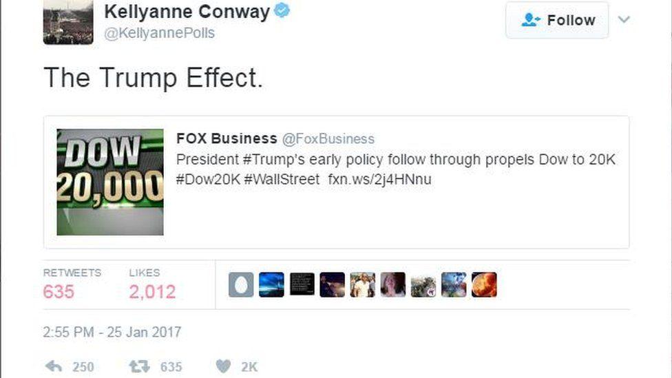 Kellyanne Conway tweet