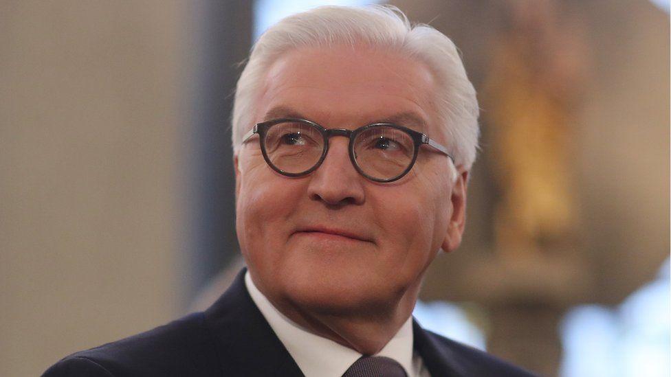 Germany President-elect Frank-Walter Steinmeier