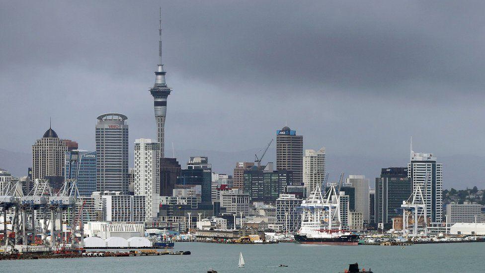 New Zealand skyline