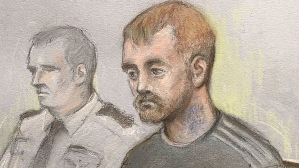 Lucy Mchugh Trial Murder Accused Swore At And Pushed Girl Bbc