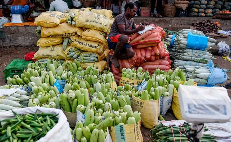 Food wholesale market in India