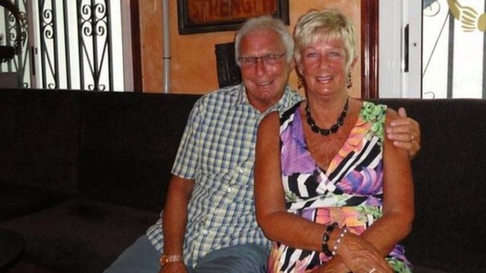 Undated handout photo taken from the Twitter feed of Danny Clifford who has taken to social media in a bid to find Denis and Elaine Thwaites