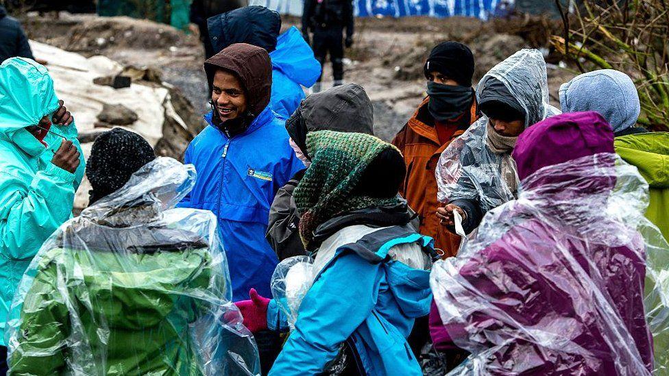 Eritrean migrants