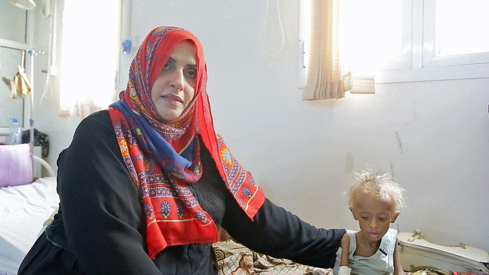 Ashwqaq with child