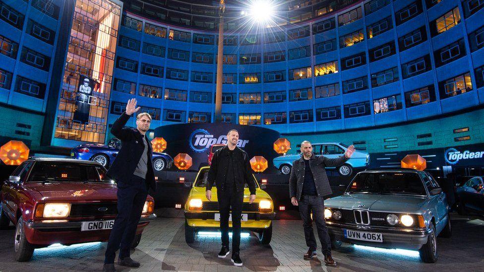 Top Gear filming in West London