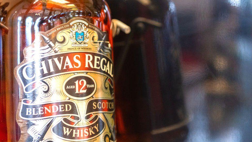 Chivas Regal bottle