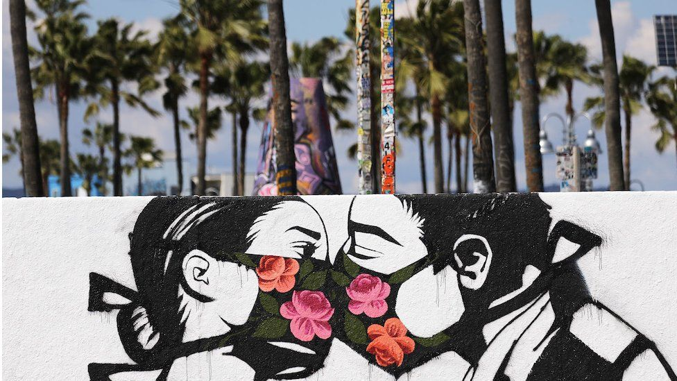Street art in Venice Beach