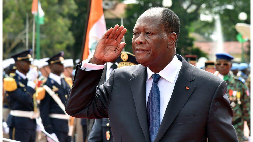 Ivory Coast President Alassane Ouattara