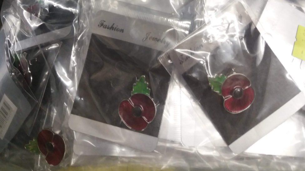 Seized poppies