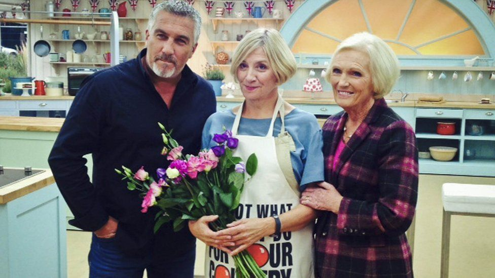 Paul Hollywood, Victoria Wood, Mary Berry