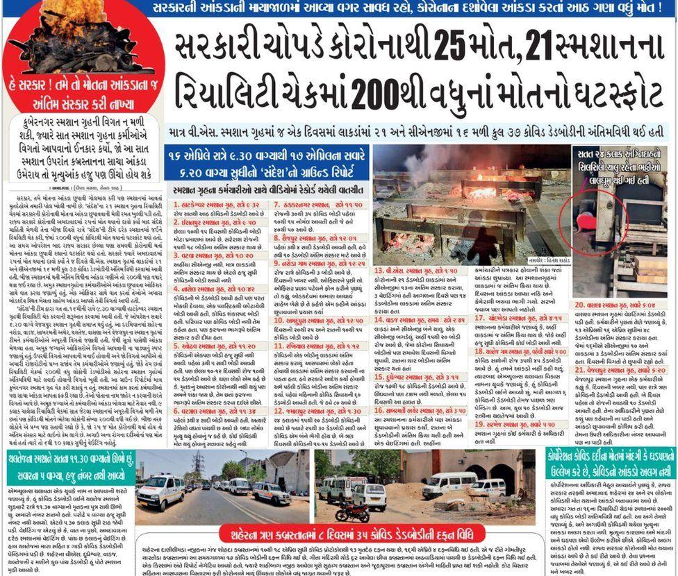 Sandesh headline