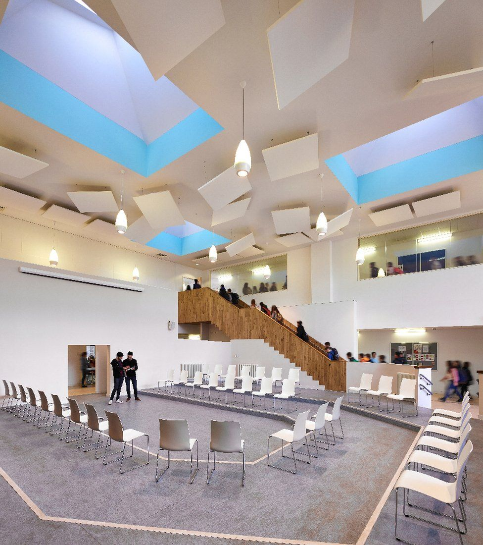 """James Gillespie's Campus, Edinburgh - """"Five new buildings vary from single to three storeys to create transformational teaching spaces"""""""