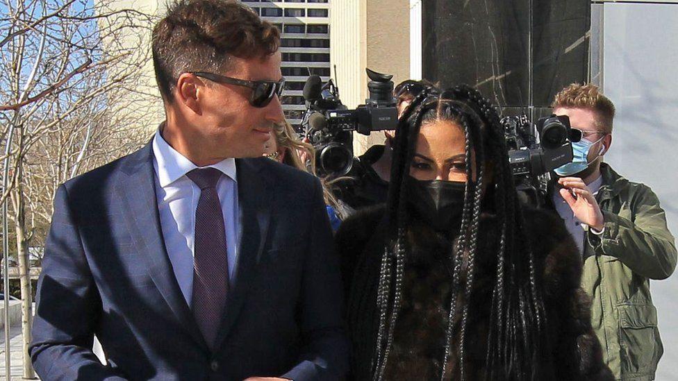 Jennifer Shah seen leaving federal court house