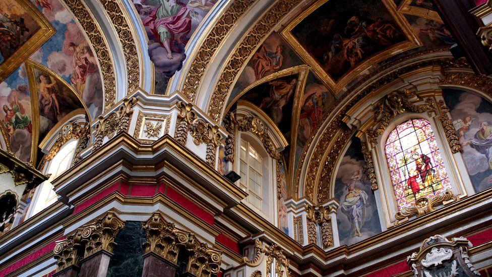 Под сводами кафедрального собора Св. Иоанна похоронены многие знатные рыцари Мальтийского ордена Мальта Мальта  104675119 maltast