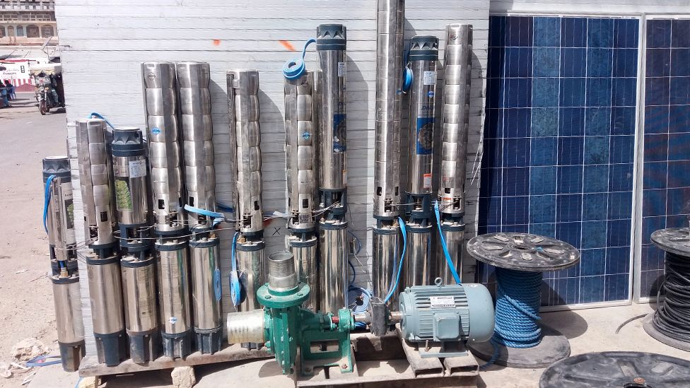 solar panels and irrigation equipment for sale